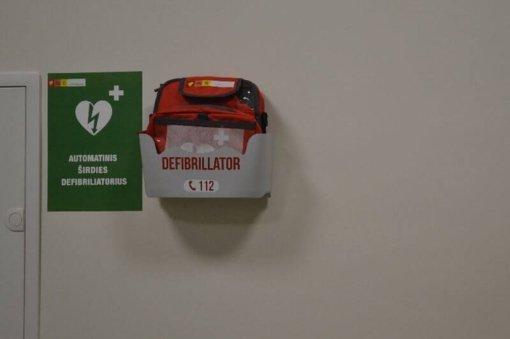 Panevėžio teritorinėje ligonių kasoje – prietaisas gyvybėms gelbėti