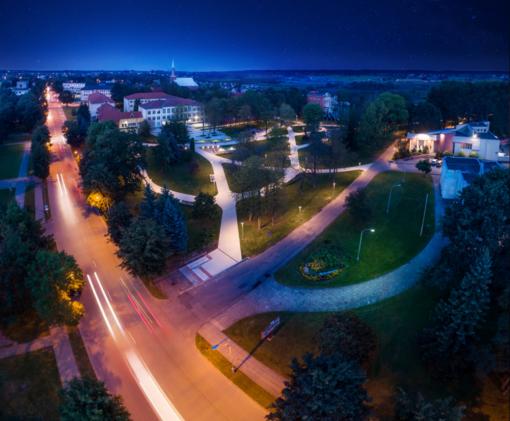 Kaišiadorių Algirdo Mykolo Brazausko parkas išrinktas Kauno regiono magnetu