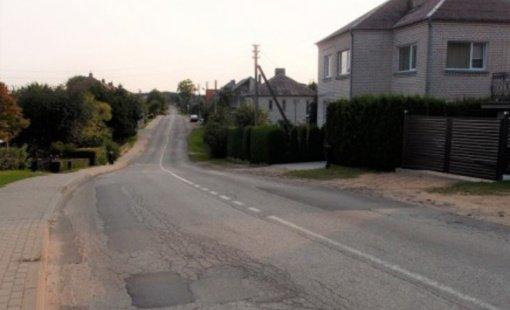 Pasirašyta rangos sutartis Alyvų gatvei remontuoti