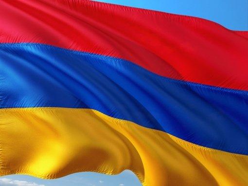 Vilniuje surengtas protestas prieš Azerbaidžano veiksmus Kalnų Karabacho konflikte