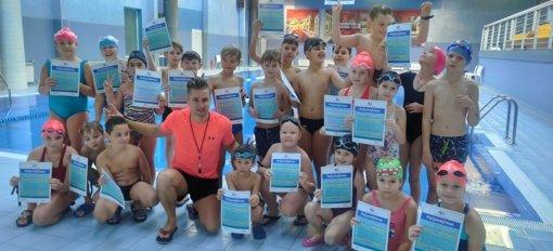 Kiekvienas Ignalinos rajono vaikas turi galimybę mokytis plaukti