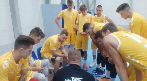 Ignalinoje sužaistos pirmosios šio sezono regionų krepšinio lygos rungtynės