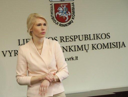L. Matjošaitytė: naujo Seimo sudėtį Lietuva sužinos apie vidurnaktį