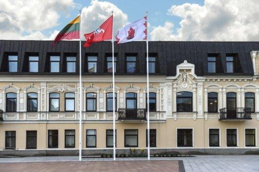 Panevėžio miesto savivaldybės vadovai izoliuojasi dėl COVID-19
