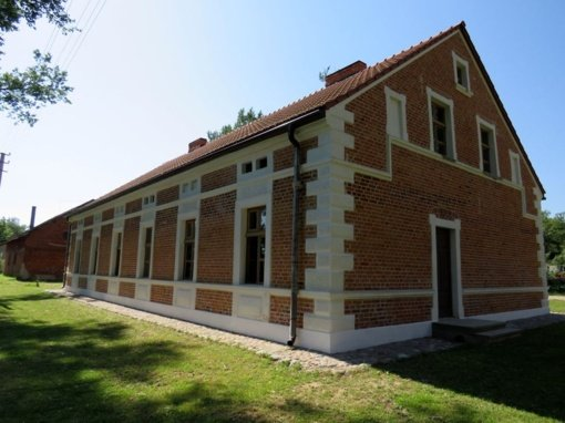 Zyplių dvaras vis gražėja: atnaujintas ir amatininkų namas