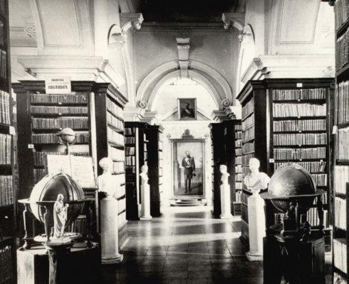 Vilniaus universiteto bibliotekos 450 metų istorija, įamžinta archyvų dokumentuose
