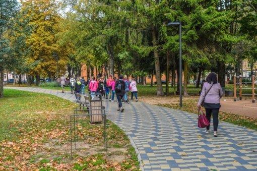 Jaunimo sodas po rekonstrukcijos – vėl pilnas lankytojų