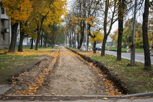 Svarbi informacija dėl Draugystės gatvės pėsčiųjų tako remonto