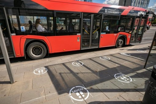 Vilnius skelbia, kokie saugumo reikalavimai taikomi viešajame transporte