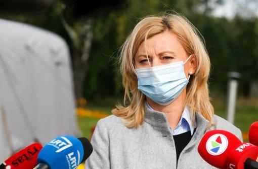 R. Tamašunienė: klausimas dėl kalio jodido tablečių dalinimo neregistruotiems, bet gyvenantiems Vilniuje vis dar svarstomas
