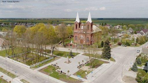 Meškuičių miestelio sutvarkymo projektas pripažintas vienu geriausių Šiaulių regione