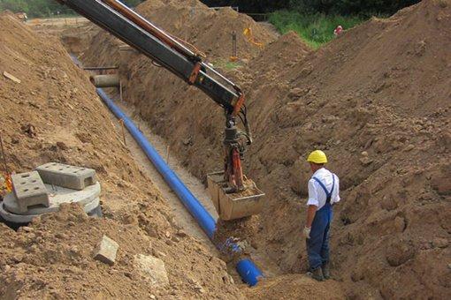 Informacija dėl nuotekų ir vandentiekio tinklų plėtros Pabradės mieste