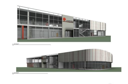 Pradedama Naujosios Akmenės sporto rūmų rekonstrukcija