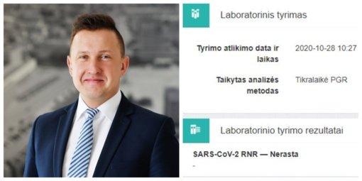 K. Podolskis atliko COVID-19 testą: kirbėjo klausimas, gal esu besimptomis viruso nešiotojas?