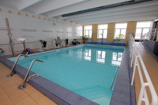 Klaipėdos jūrininkų ligoninė stabdo vandens procedūras