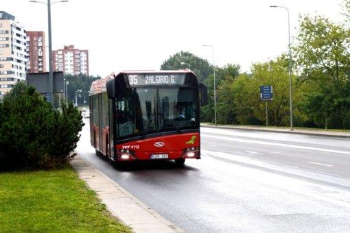 Nuo lapkričio 1 dienos keisis kai kurių sostinės autobusų maršrutų tvarkaraščiai ir trasos