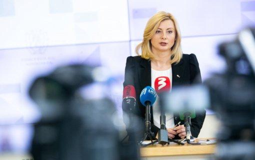 Ministrė R. Tamašunienė: civilinės saugos sistemos pertvarka būtina kovojant su antrąja koronaviruso banga