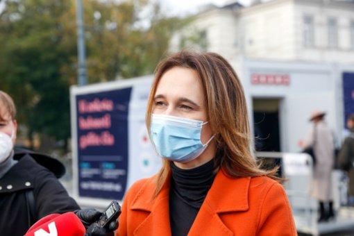V. Čmilytė-Nielsen apie koronaviruso įveikimą: man tikrai pasisekė