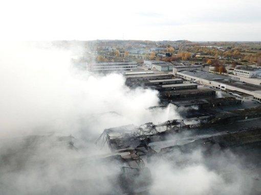 Pateiktas 5 mln. eurų ieškinys dėl Alytaus gaisro padarytos žalos atlyginimo