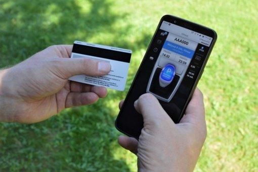 m.Parking pradeda veikti atsiskaitymas banko kortelėmis