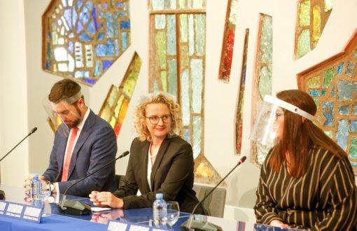A. Armonaitė: konservatoriai, Liberalų sąjūdis ir Laisvės partija gali Lietuvai sukurti daug vertės