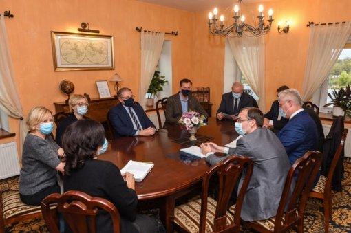Pritarta dalyvauti steigiant Panevėžio regiono plėtros tarybą