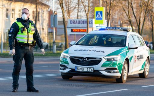 Ilgąjį savaitgalį Marijampolės apskrityje dirbs sustiprintos policijos pajėgos