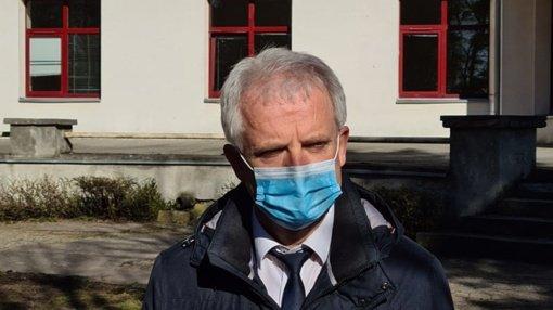 R. Mažeika: Situacija ligoninėje yra labai įtempta