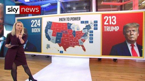 Pasaulis nekantraudamas laukia JAV prezidento rinkimų rezultatų