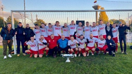 """FC """"Saulininkas"""" – 2020 metų LFF III lygos Šiaulių apskrities pirmenybių """"Splius"""" taurei laimėti nugalėtojas"""