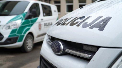 Marijampolėje apvogtas automobilis