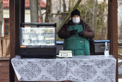 Turgaviečių ir prekyviečių atstovas: prekyba turgavietėse smuko perpus