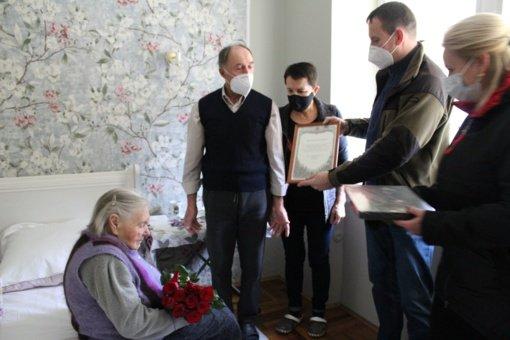 Zujūnų seniūnijos gyventoja Bronislava Tursienė mini 100-ąjį jubiliejų