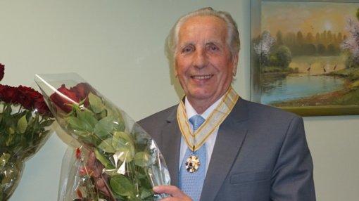 Mero padėkos ženklu apdovanotas vienas iš Mūšios miško parko įkūrėjų