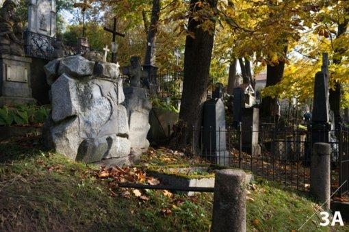 Atkurti atmintį: istorinėms Vilniaus kapinėms ieškomi mecenatai