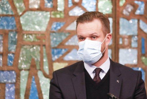 G. Landsbergis: esame pasiryžę pasidalinti vakcinomis su Ukraina, kai jų bus pakankamai