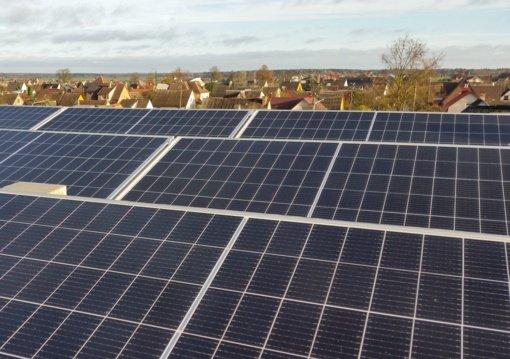 Kuršėnuose elektros energiją padės gaminti saulė