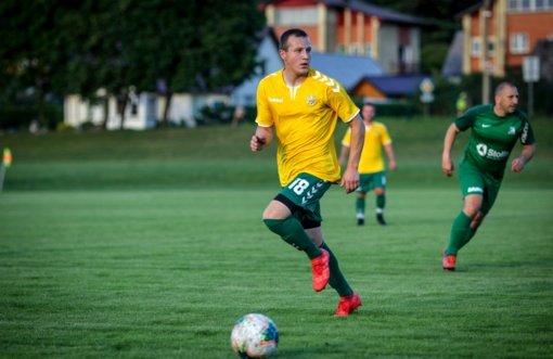 Anykštėnas geriausių žaidėjų rinkimuose užėmė antrą vietą