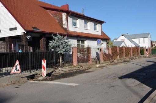 Pradėti Ligoninės gatvės atnaujinimo darbai