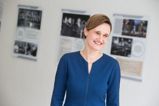 Centro dešinieji sutarė į Seimo pirmininko vietą siūlyti V. Čmilytę-Nielsen