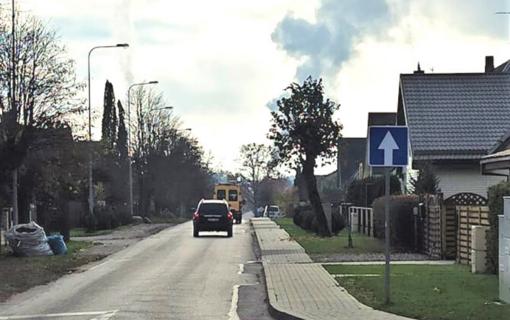 Eismo pokyčiai Marijampolėje: dalyje Maironio gatvės eismas bus organizuojamas viena kryptimi