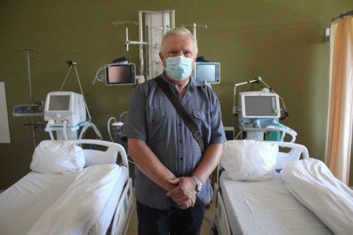 Medicinos techniko Vytauto darbas plika akimi nepastebimas, bet gyvybiškai būtinas