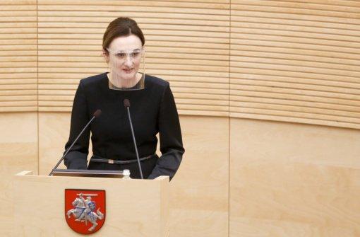 Į Seimo pirmininkes siūloma vienintelė V. Čmilytė-Nielsen