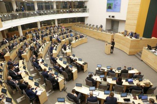 Seimas apsisprendė: išrinkta nauja Seimo pirmininkė