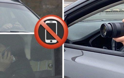 Utenos AVPK pareigūnai tikrins, ar vairuotojai nesinaudoja mobiliaisiais prietaisais