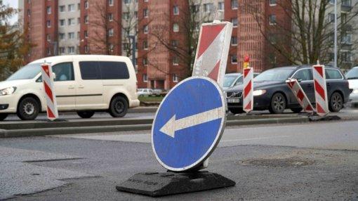 Tilžės-Statybininkų-Gardino sankryžoje – eismo ribojimai