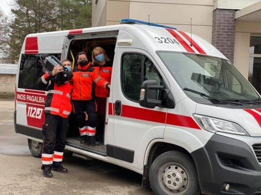 Panevėžio rajono greitosios pagalbos medikai išgelbėjo staiga susmukusio žmogaus gyvybę