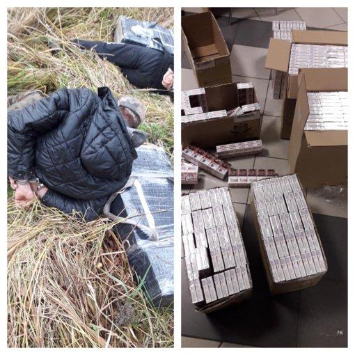 Vilniaus oro uoste sulaikyta 40 lagaminų su cigarečių kontrabanda