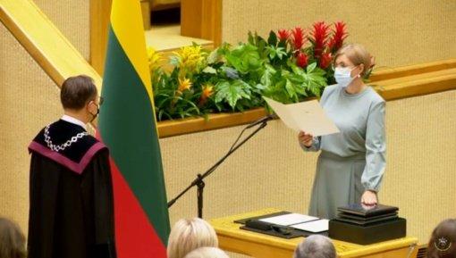 """Įtampa Seime augs: """"valstietė"""" A. Norkienė nebus Seimo vicepirmininke"""