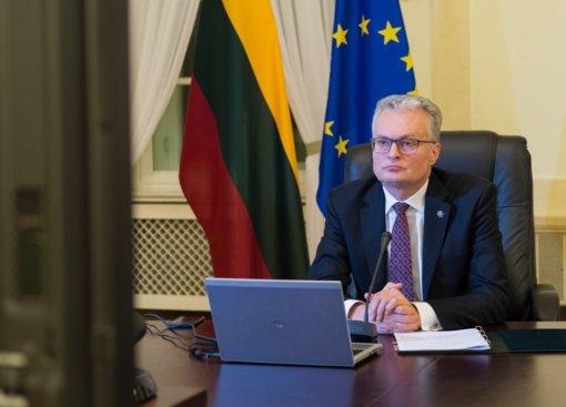 Prezidentas pasveikino Latviją Nepriklausomybės dienos proga